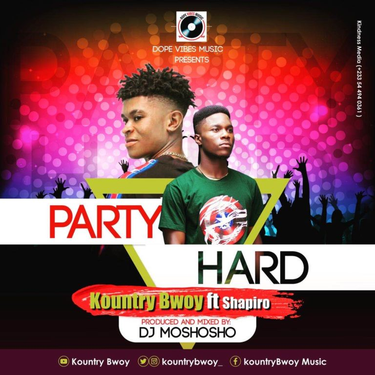 Kountry Bwoy – Party Hard ft Shapiro
