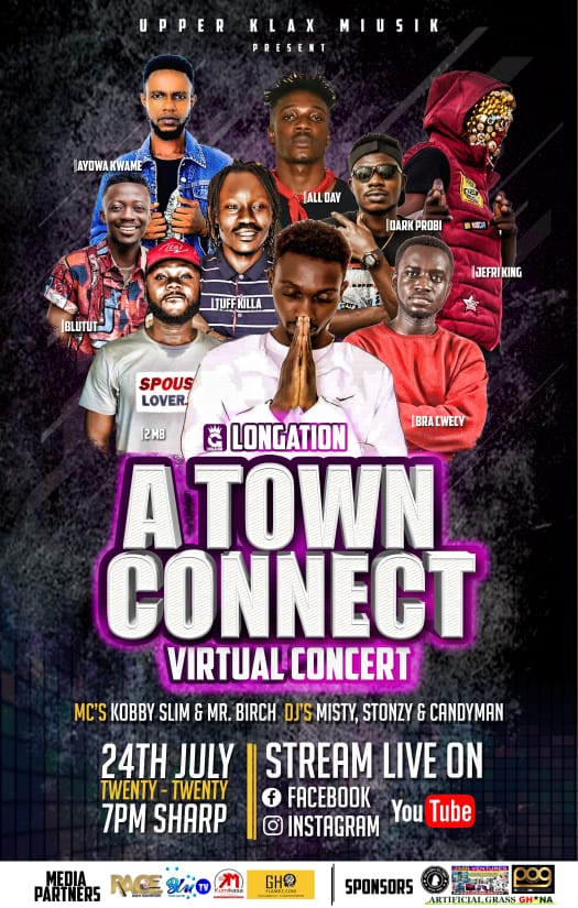 It's Gonna be Lit!!! A Town Connect Virtual Concert 24th July 2020