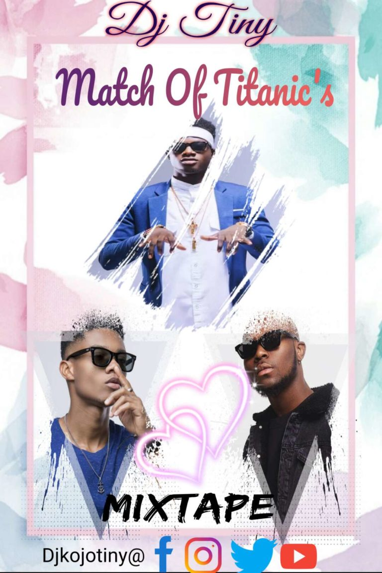 Dj Tiny@ Match Of Titanic's (Kuami Eugene, Kidi & King Promise) Mixtape