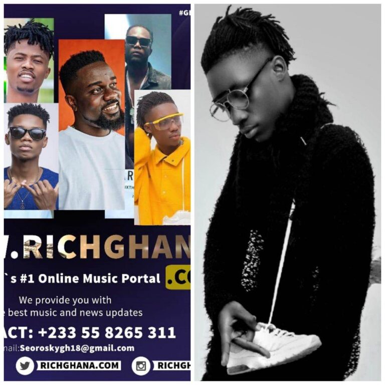 Kobby Young ( shoeboy) Has Been Endorsed By RichGhana Media