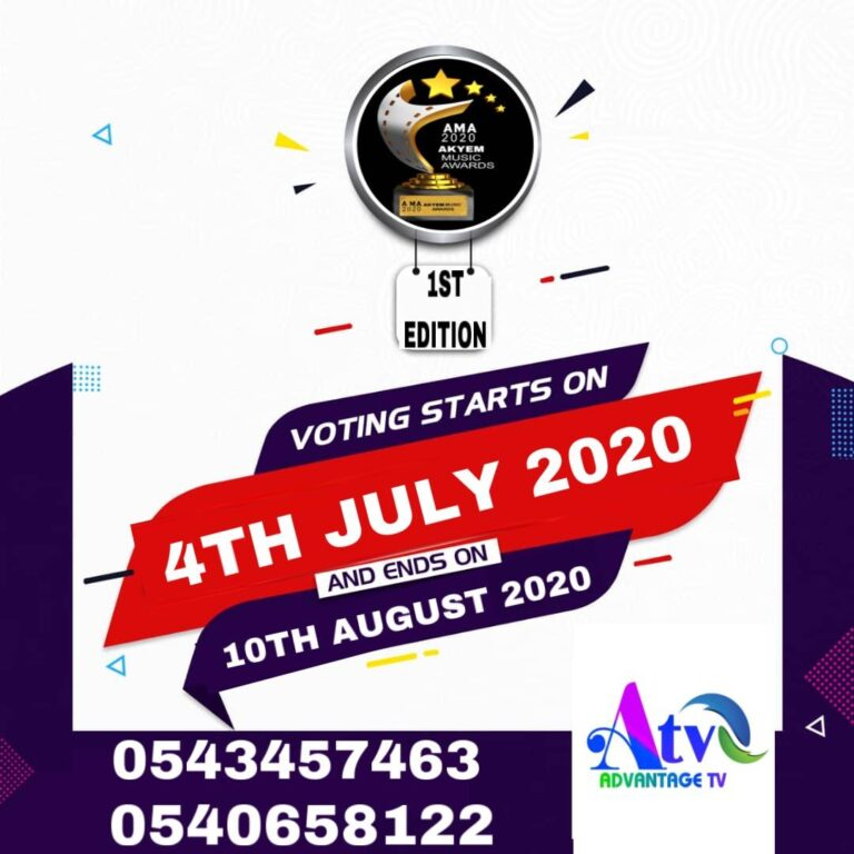 Akyem Music Awards Voting has Started, Ends 10th August