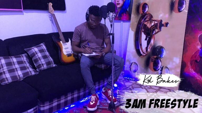 Kd Bakes – 3am Freestyle (Prod by Mr Lord)