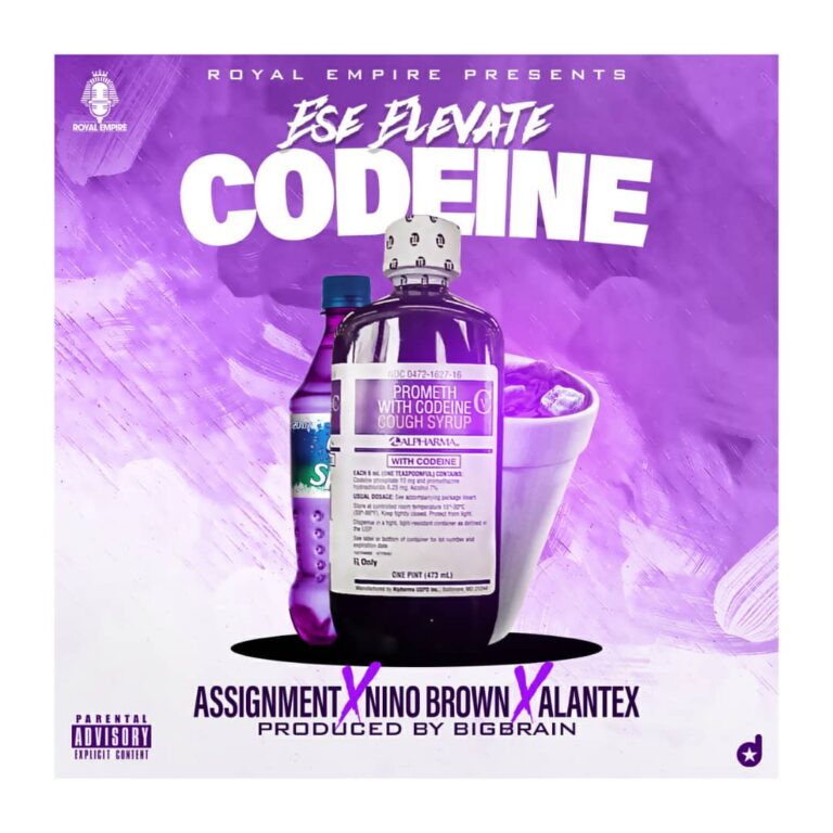 Ese Elevate – CODINE ft Assignment x Nino Brown x Alantex (Prod by big brain)
