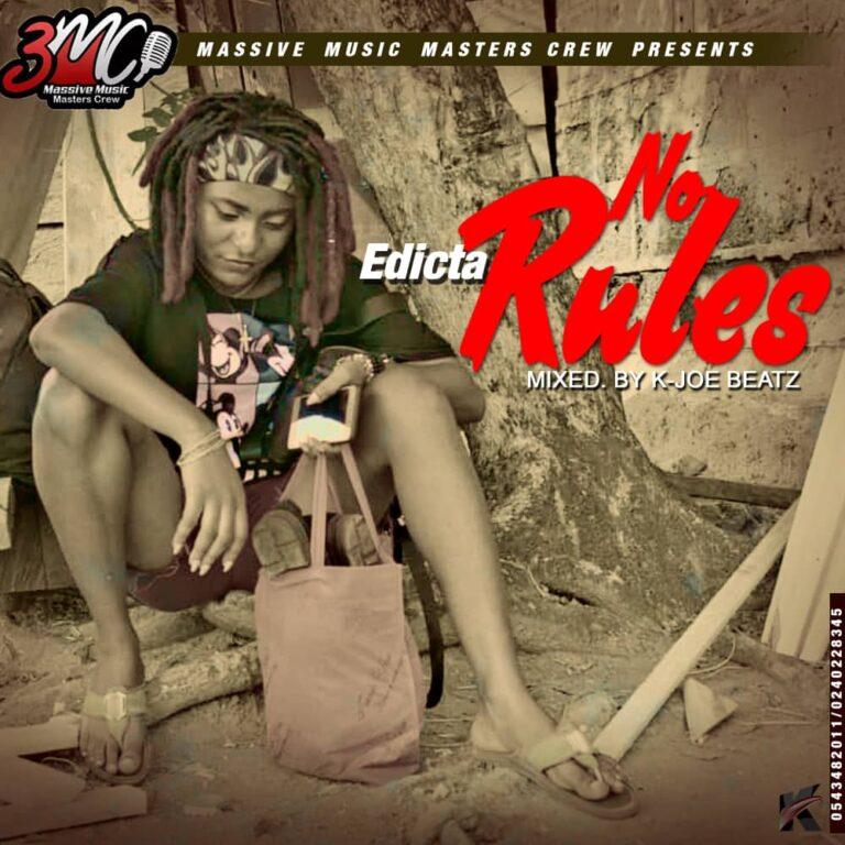 Edicta – No Rules (Mixed By K. Joe Beatz)