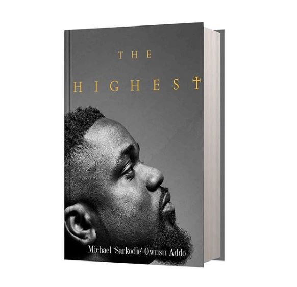 """Sarkodie Announces the release of his first book """"The Highest""""."""