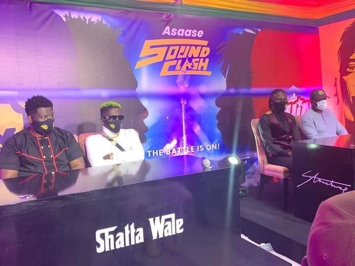 Video of the first clash of Shatta Wale and Stonebwoy