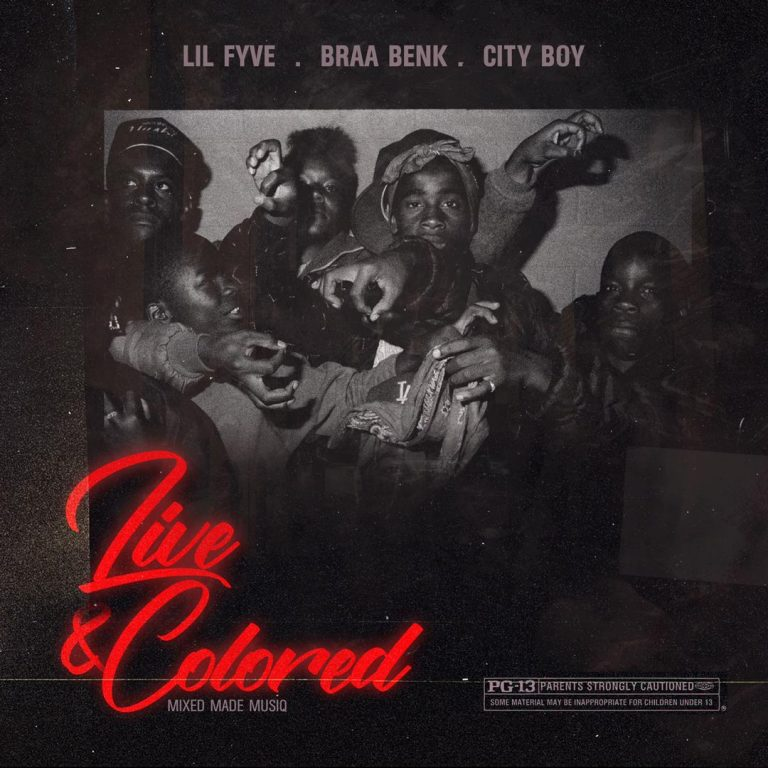 Lil Fyve Live And Colored (Kumerica) feat. Braa Benk & City Boy.