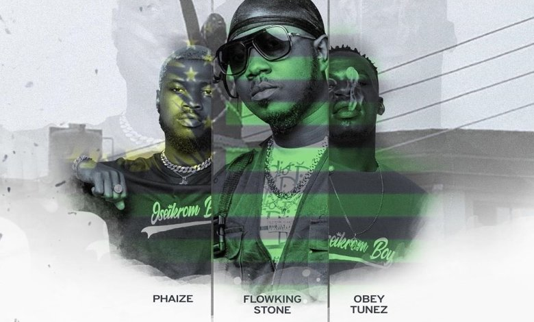 Oseikrom Geng by Flowking Stone ft Phaize Gh & Obey Tunez