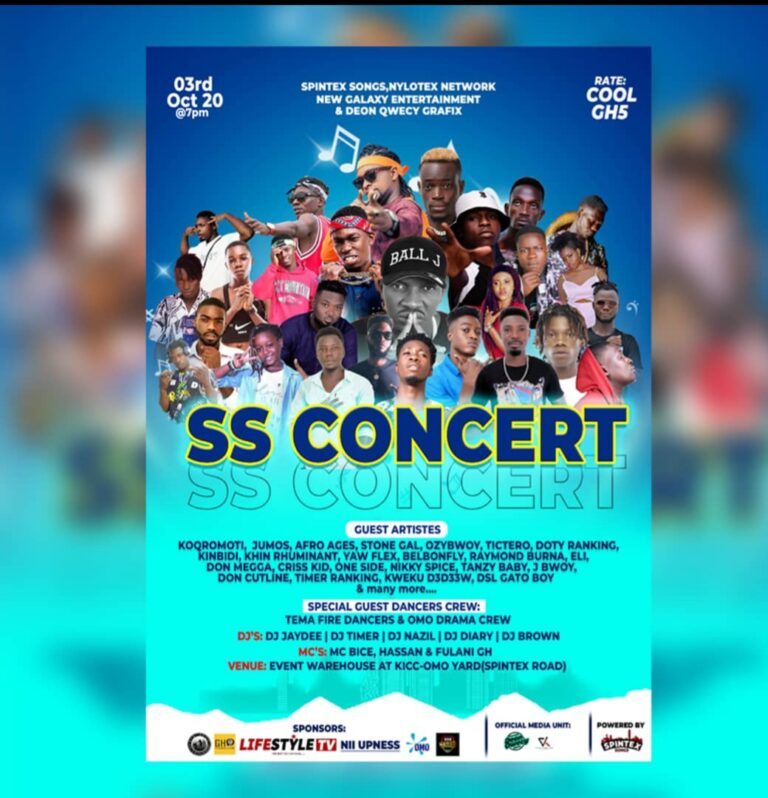 All is set for SS concert on 3rd October