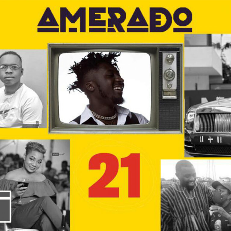 Amerado – Yeete Nsem with AMG Evergreen ft. Selly Galley, Mfantseman MP, Sarkodie, SARS | Episode 21