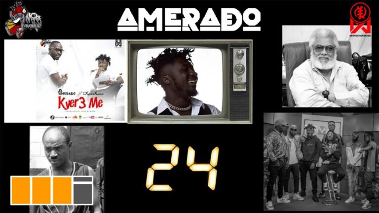 Amerado – Yeete Nsem (Kejetia Edition) feat. H.E. JJ Rawlings, Shatta Wale & Kyer3 Me | Episode 24