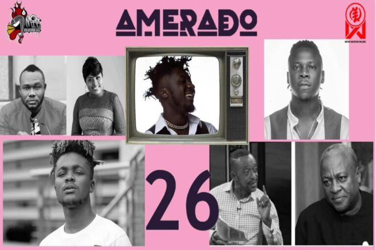 Amerado – Yeete Nsem with Ratty Ghana, Koo Ntakra & Bogo Blay ft. Quamina MP, Stonebwoy | Episode 26