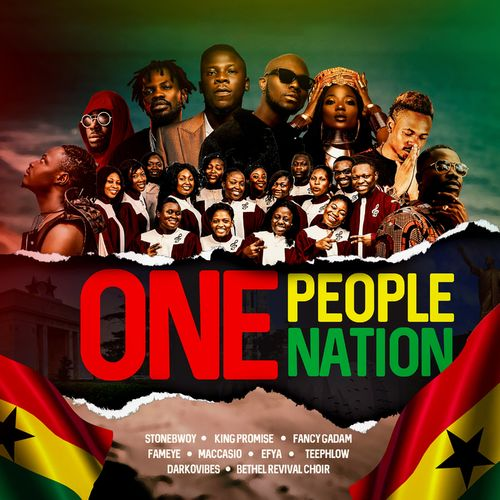 Stonebwoy – One People One Nation ft. King Promise x Darkovibes x Fameye x Efya and Others