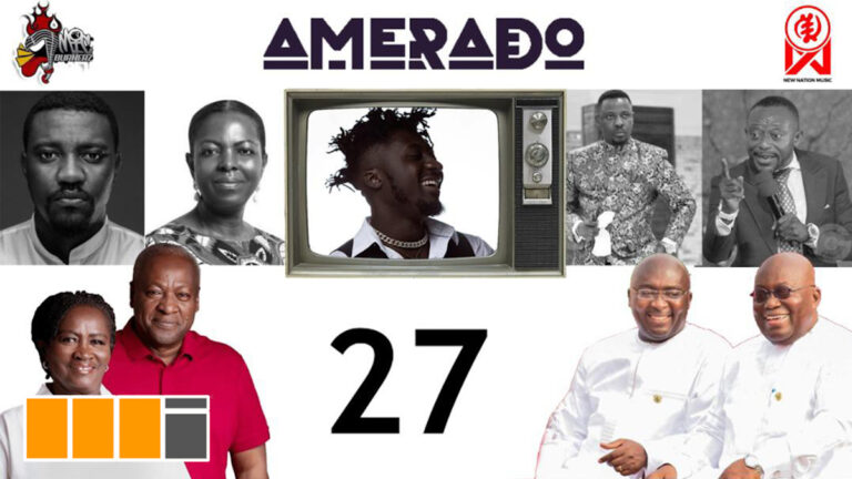 Amerado – Yeete Nsem with Bogo Blay ft. 2020 Elections, NPP, NDC, Dumelo, Maa Lydia, EC | Episode 27