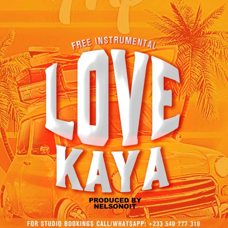 Love Kaya (Free Riddim)(AfroPop) Prod by NelsonOnIt (70 Riddim Project for 2021)