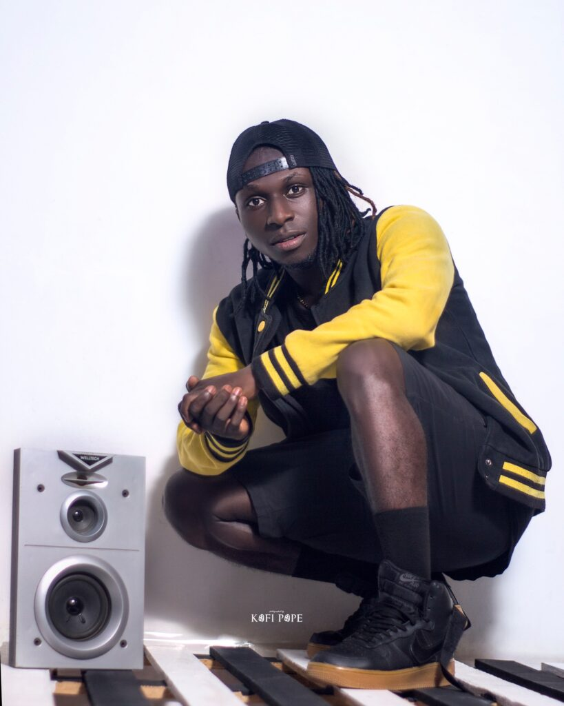 Kwacy Boat the irresistible Rapper from Ghana